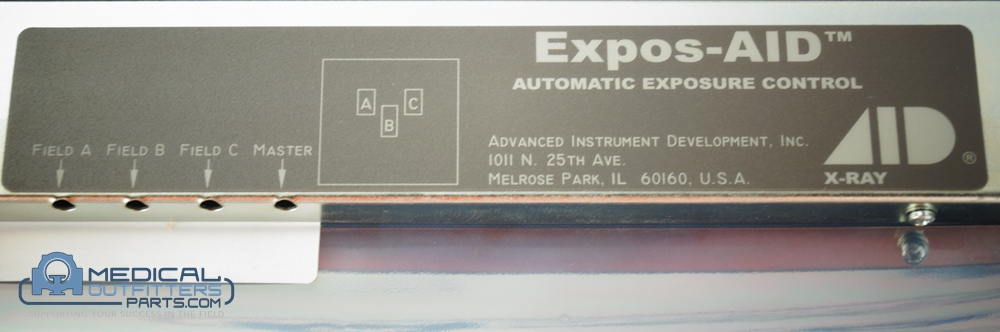 AID X-Ray Automatic Exposure Control (AEC), PN ICX153