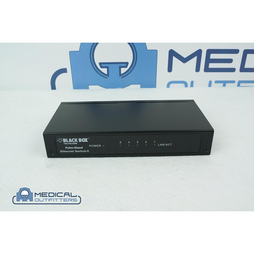 Black Box 5-Port Ethernet Switch, LB9005A-FO-R2