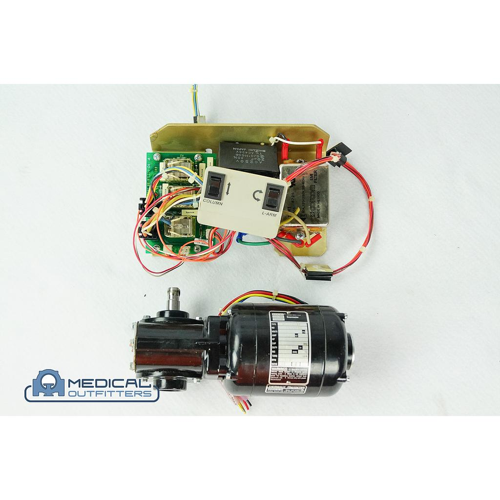 GE OEC 9000 C-ARM Rotation Motor and Controller