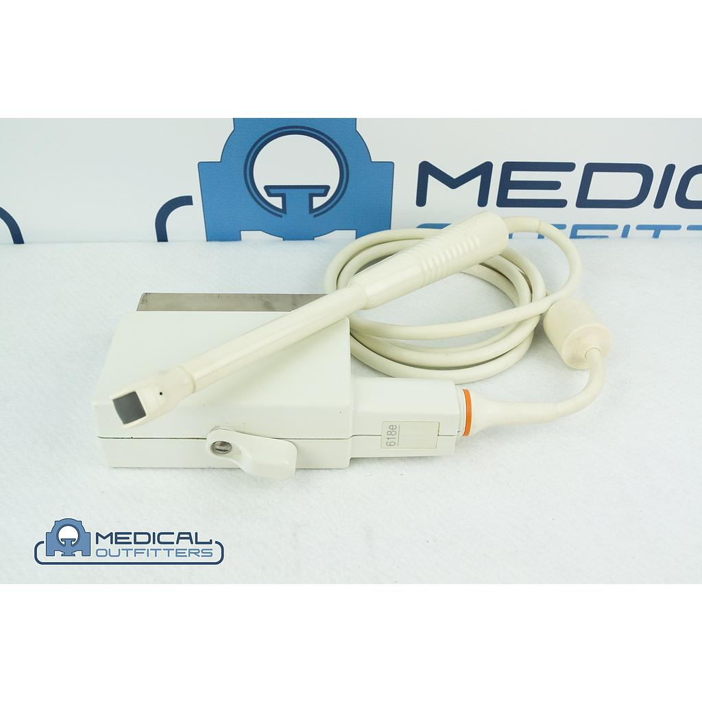 GE  618E Ultrasound Transducer Probe Transvaginal Endocavity, PN 2236952, 2197484