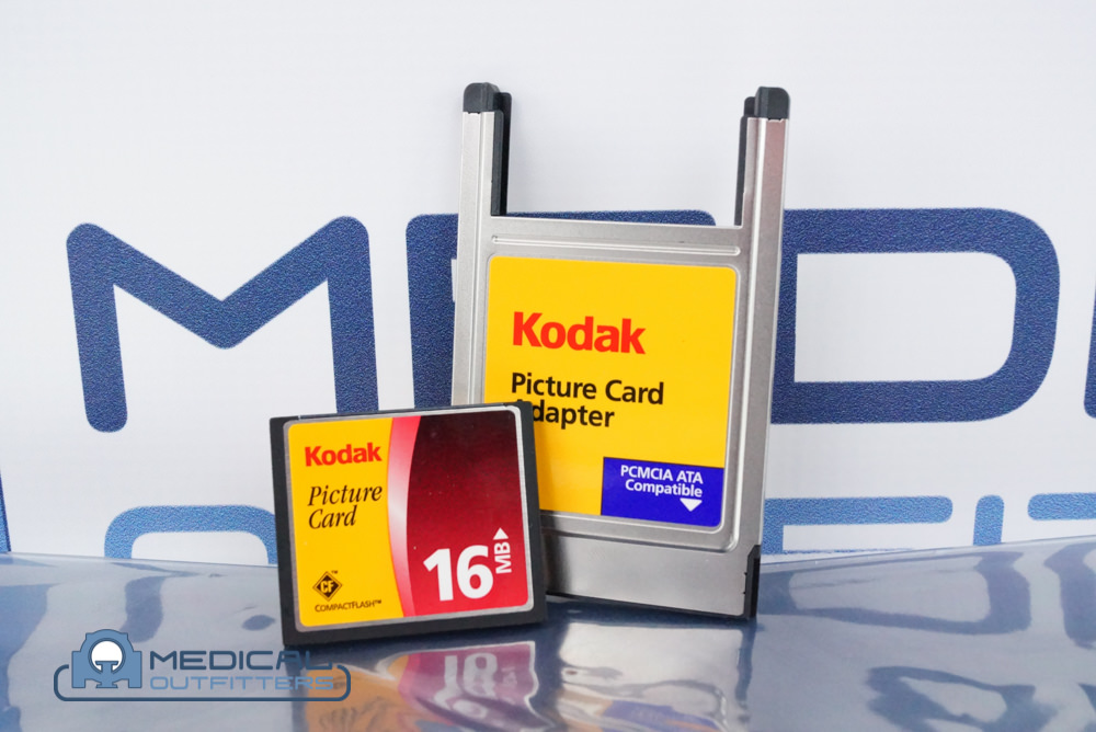 Kodak Compact Flash Card Adapter, PCMCIA ATA, with 16MB Cards for CR800