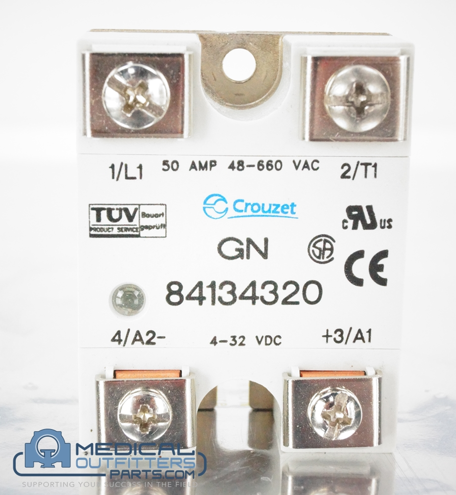 Crouzet Solid State Relay, 660VAC, 32VDC, 50A, PN GN84134320