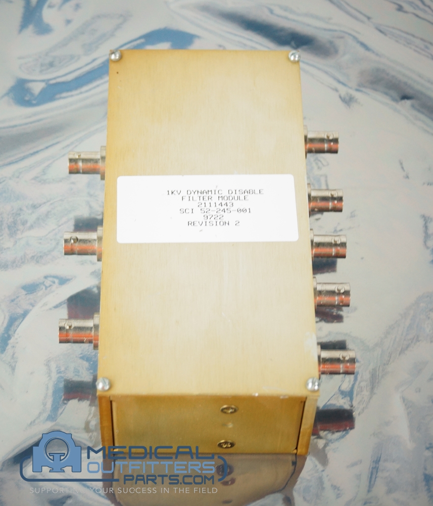 GE MRI Dinamic Disable Filter Module, PN 2111443