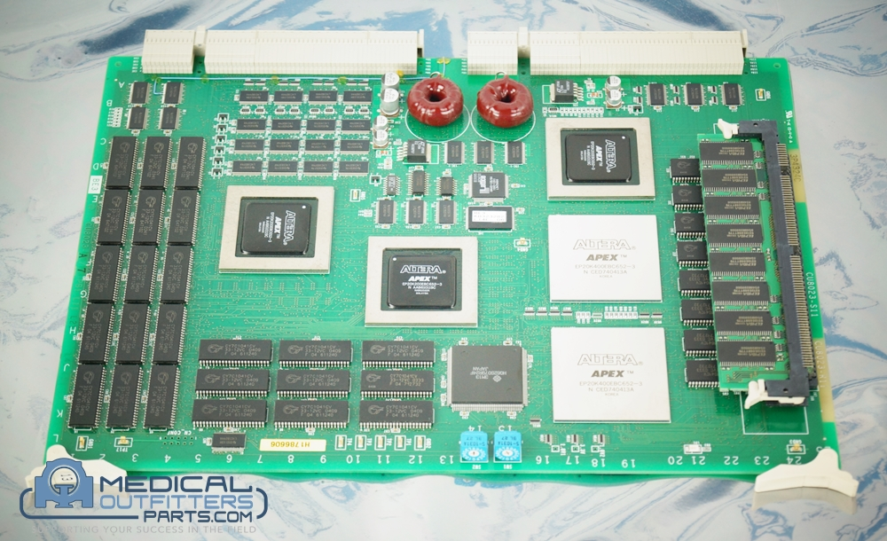 Hitachi Ultrasound EUB-8500 BE E Board, PN CU8023-S11, CU8023R11