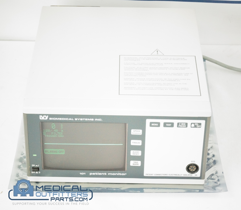 Biomedical System INC Patient Monitor, PN 101T