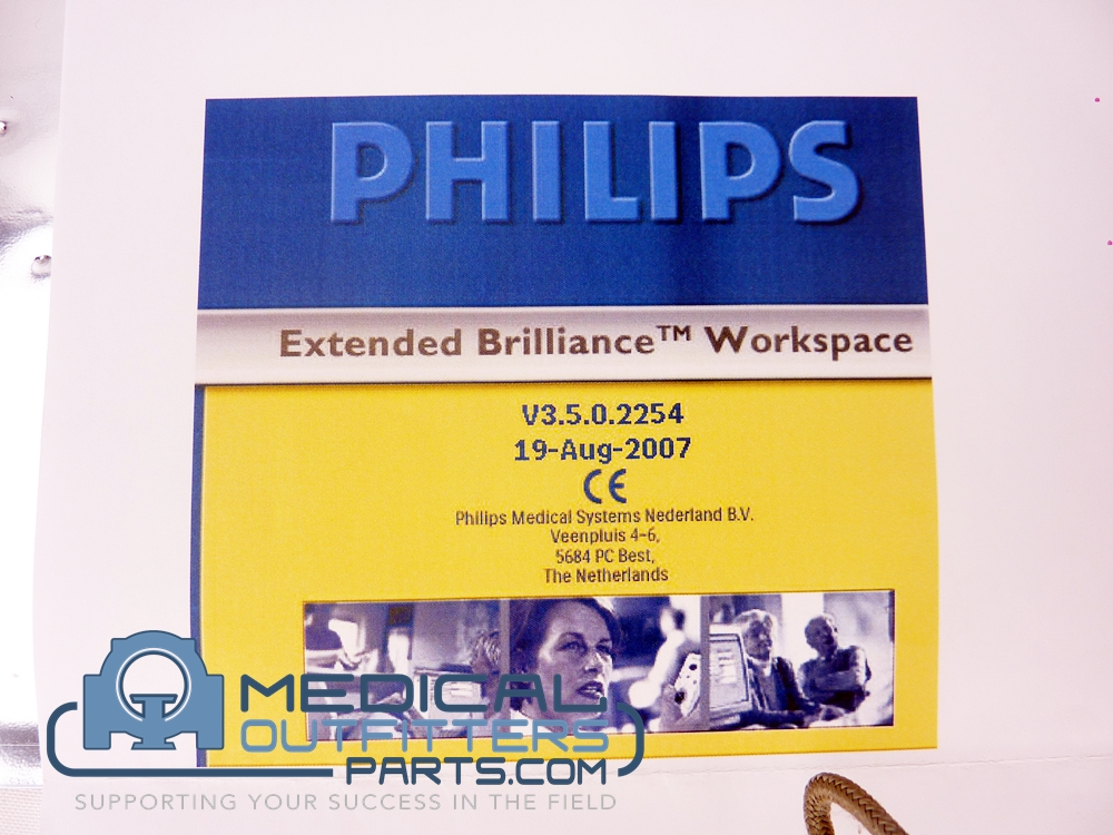 Philips CT Extended Brillance Workspace Precision 670 With Licenses, V3.5.2254, PN 455011002031