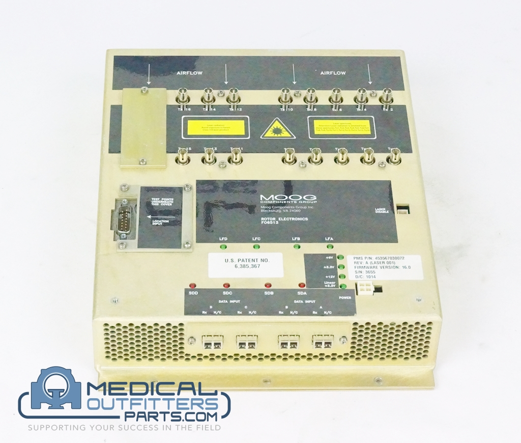 Philips CT Brillance 64 Module, Optical TX, Rotor, PN 453567030072