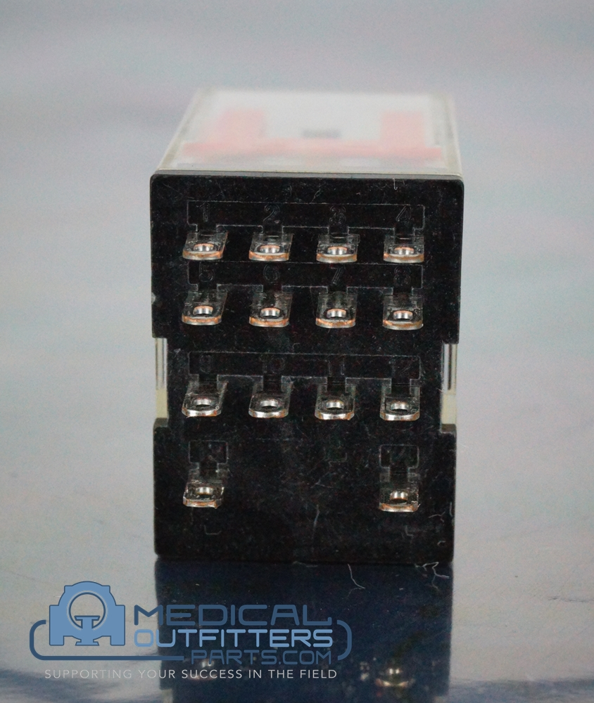 Omron Relay Plug In, 120V, 5 A, PN MY4