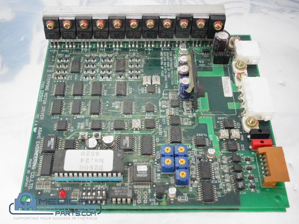 GE CT HiSpeed Stepping Motor Driver Board, PN D2500