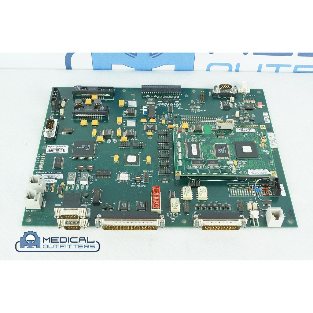 Philips PET/CT  Gemini Duo Main Drive Processor Board Assy with Line Power Converter, PN 453566460131