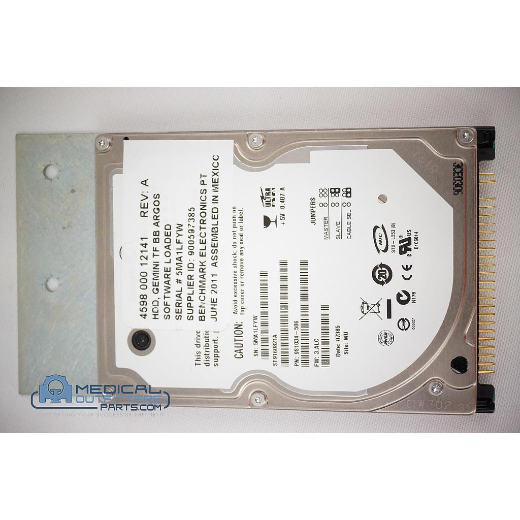 Seagate 160GB IDE 2.5 HDD Gemini TF BB Argos Software, 459800012141-506