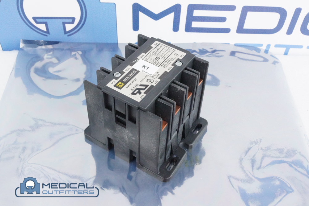 PET PDU/MCU K1 Relay Assy, 25A, 24V, 4-POLE, PN 453567938401