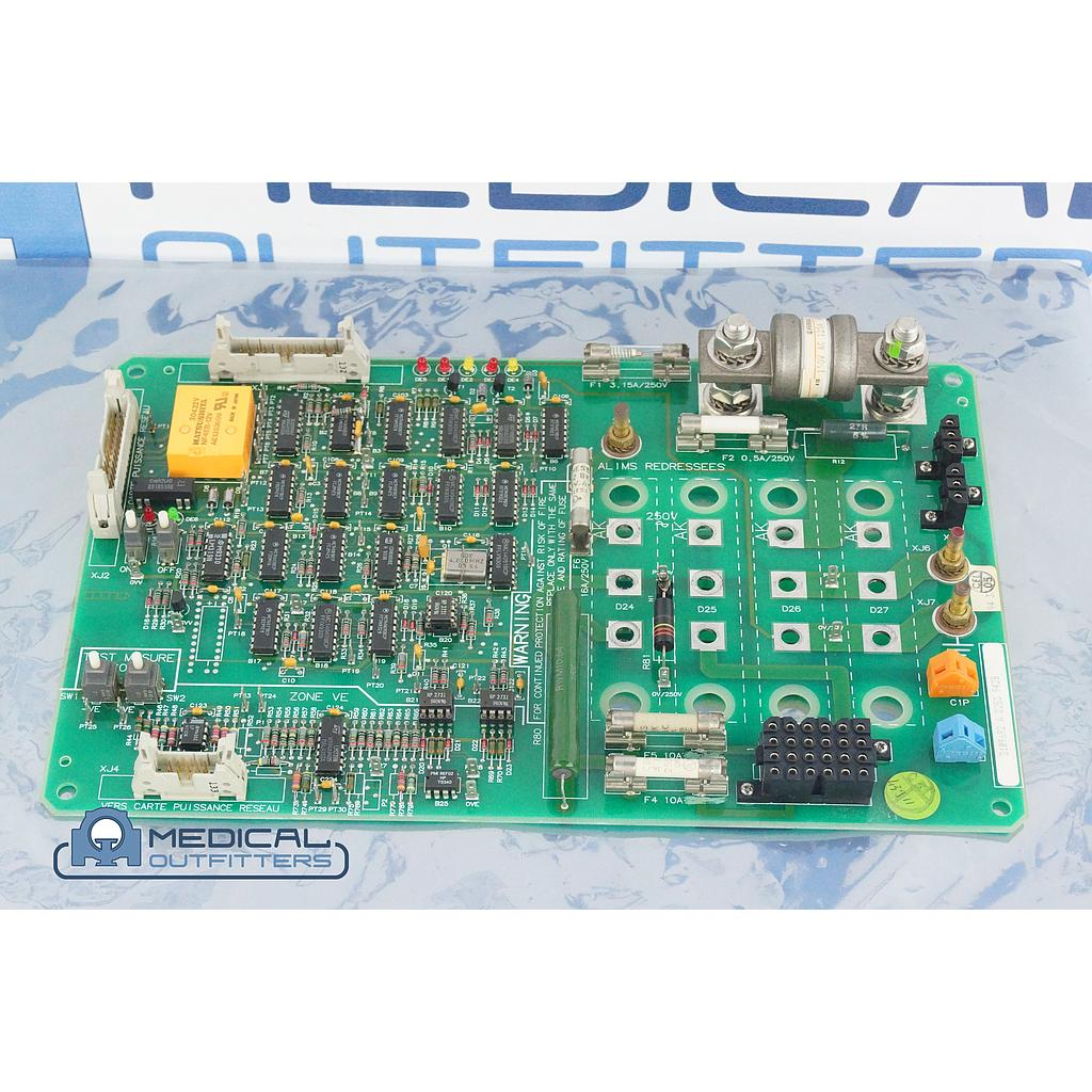 GE Mammo DMR Supply Comand Board, PN 45561276
