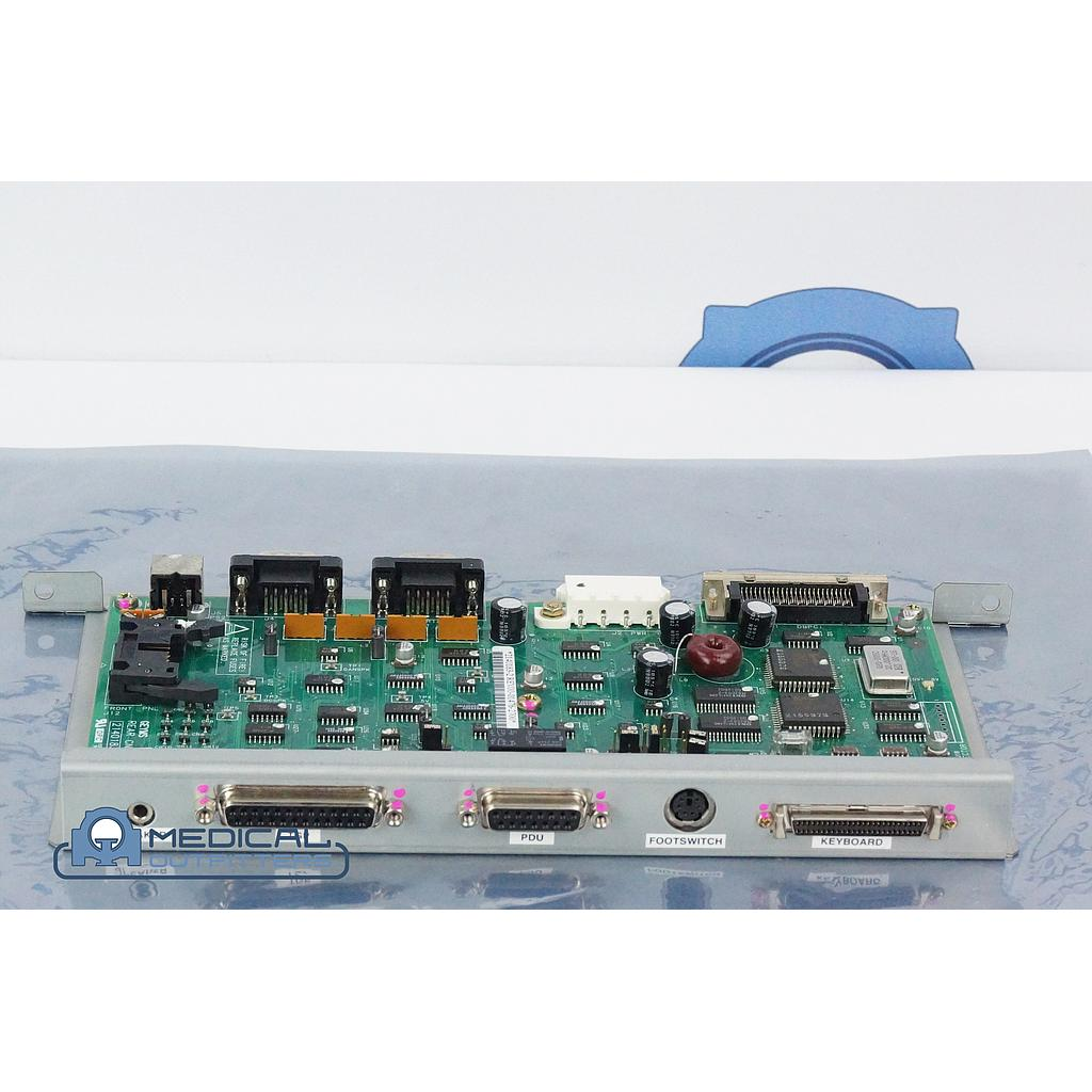 GE HiSpeed FX/i CT Geyms Rear CN1 Assy Board, PN 21401832