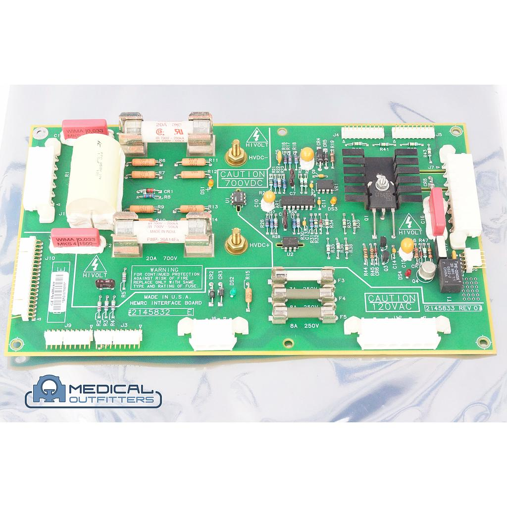 GE CT LightSpeed HEMRC Interface Board, PN 2148532