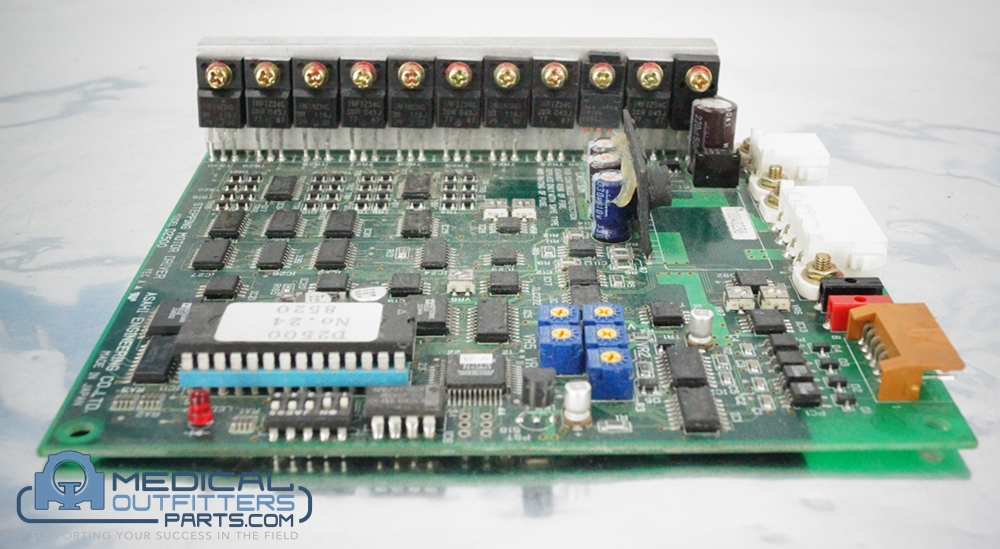 GE CT HiSpeed Stepping Motor Driver Board D2500, PN 248520, 2299288