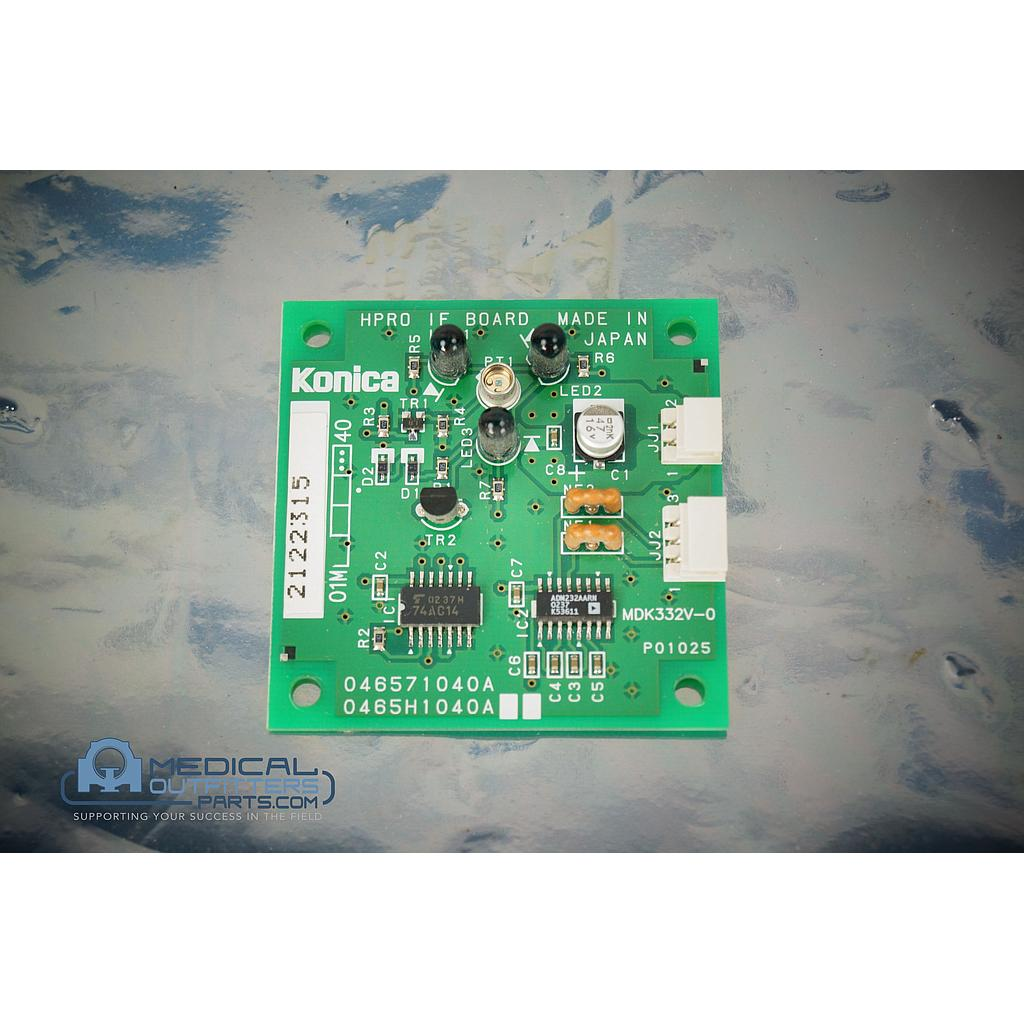 Konica DryPro 751 HPRO IF Board, PN 046571040A, 0465H1040A