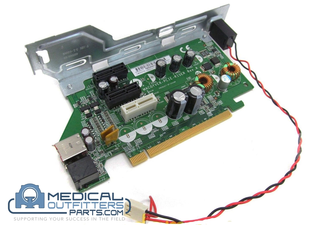 HP POS 24VDC Powered PCie to PCIe Riser Card, PN 640266-001