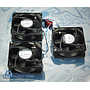 Papst Set 3 Fan 24VDC, 12-30V, 3.5W, 2800RPM, PN 4184NGX