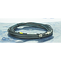 GE MRI RUN 1057 MG3-A8-J1 TO PP1-J85 UTNS Cable, PN 2377248-6